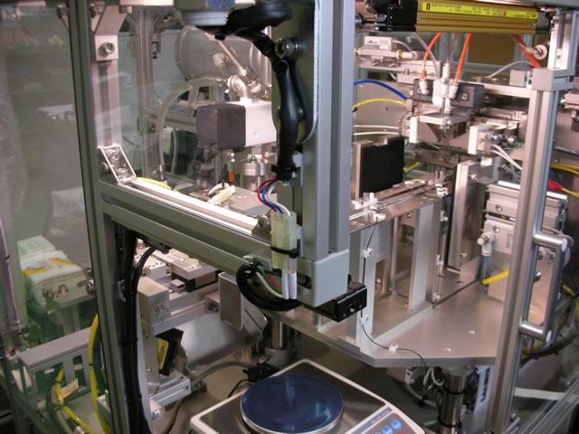 製作業務:機械製作